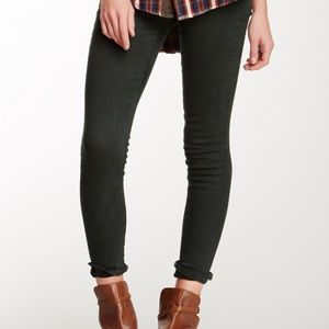 {J BRAND} Green Super Skinny Jeans | 29 | EUC